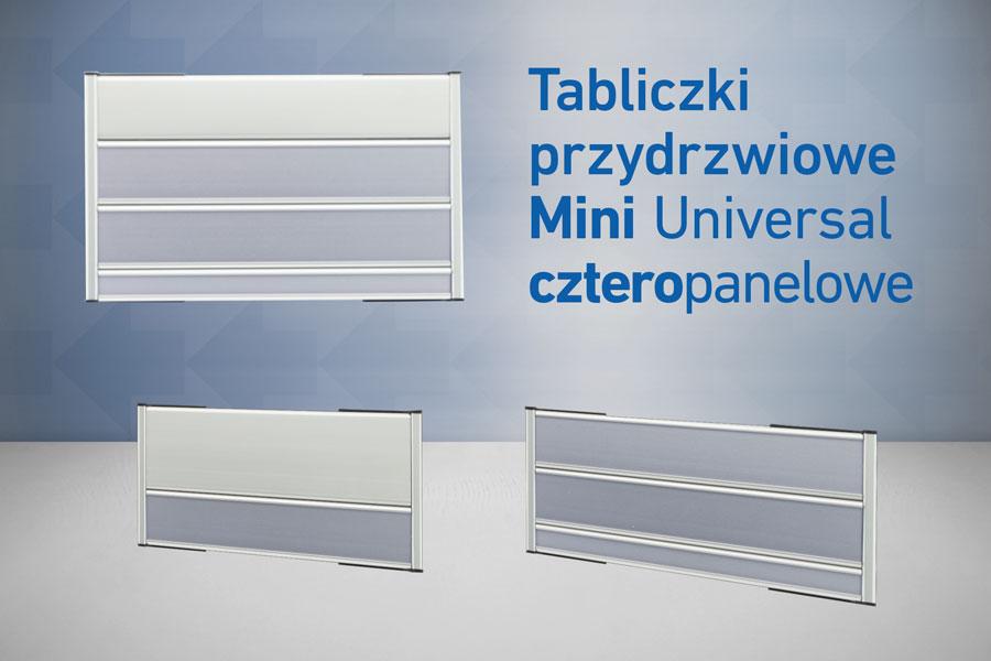 4 panelowe Universal mini