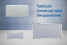 2 panelowe Universal mini