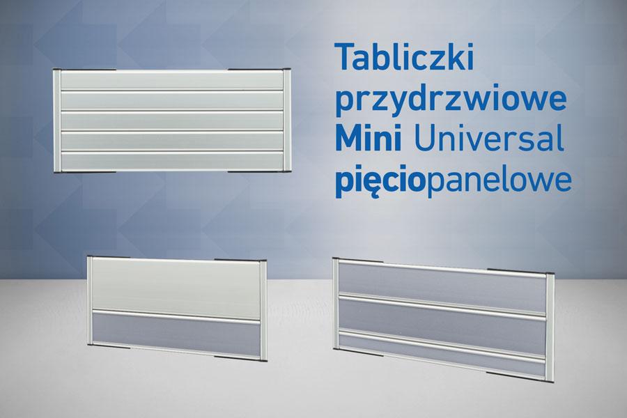 5 panelowe uniwersal mini