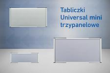 3 panelowe Universal mini