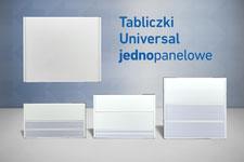 tabliczki przydrzwiowe universal 1 panelowe