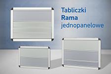 1 panelowe Rama