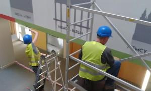 Pracownicy RAMA przy pracy